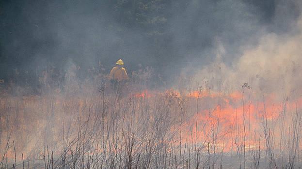 Steven Ralser - Prescribed Burn 4 - UW Arboretum - Madison - Wisconsin