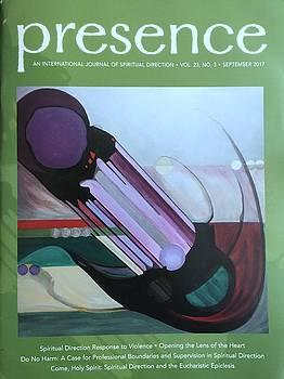 Presence  Journal Cover by Marlene Burns