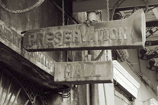 Chris Coffee - Preservation Hall, French Quarter, New Orleans, Louisiana