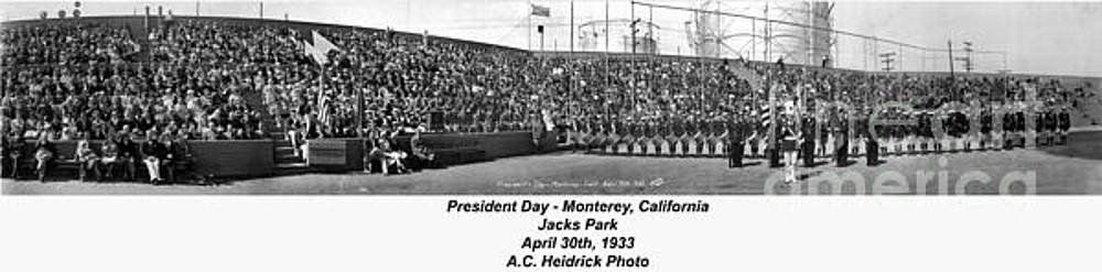 California Views Mr Pat Hathaway Archives - President Day - Monterey, California April 30, 1933