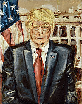 President Donald Trump by Ryan Demaree
