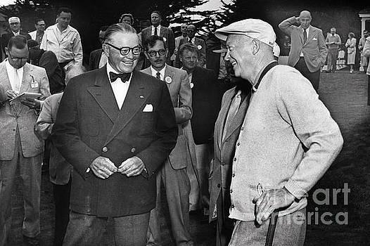 California Views Mr Pat Hathaway Archives - President Dwight D. Eisenhower and Samuel F. B. Morse 1956