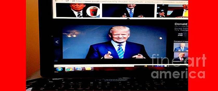 President Elect Donald J. Trump Two Guns Blazing by Richard W Linford