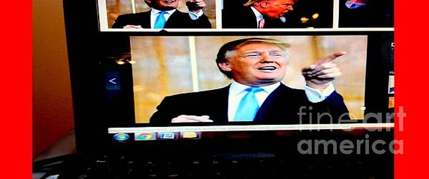 President Elect Donald Trump Told you I'm a winner by Richard W Linford