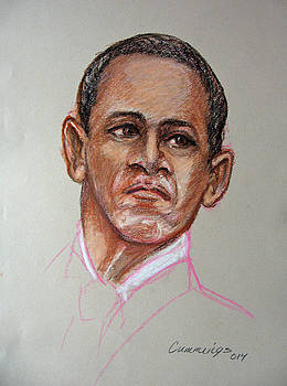 President Obama by John Cummings