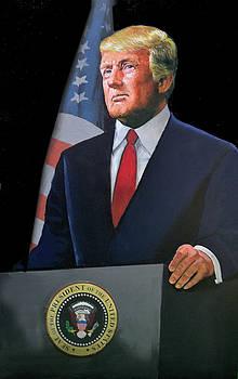 President Trump by Harold Shull