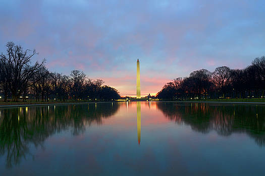President's Day Sunrise by David Posey
