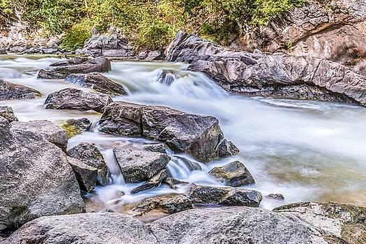 Presumpscot Falls 2 by Tim Sullivan