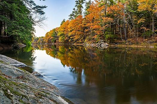 Presumpscot River by Tim Sullivan
