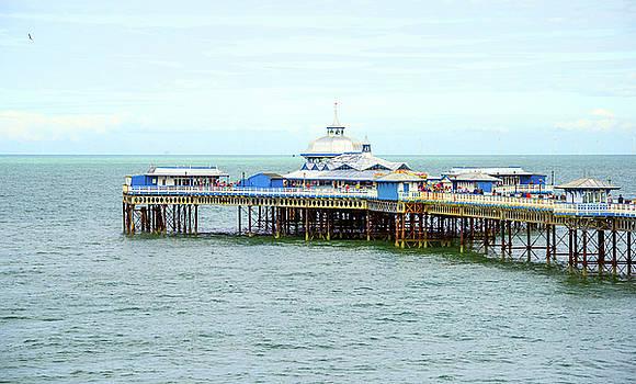 Pretty Llandudno Pier by Svetlana Sewell