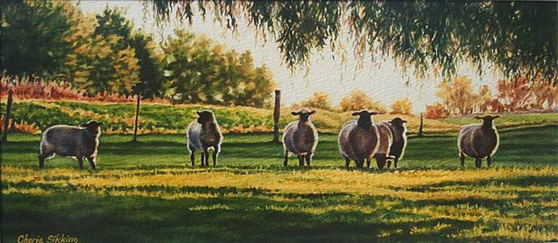 Pretty Maids All in a Row by Cherie Sikking