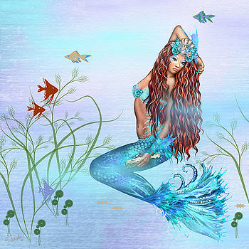 Pretty Mermaid by Rosalie Scanlon