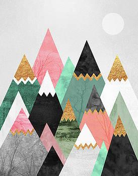 Pretty Mountains by Elisabeth Fredriksson