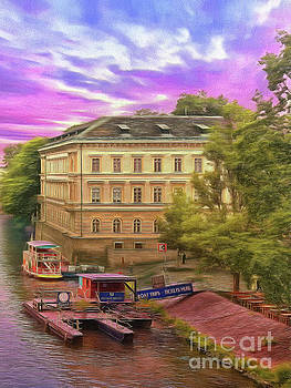 Pretty on the river - Prague by Leigh Kemp