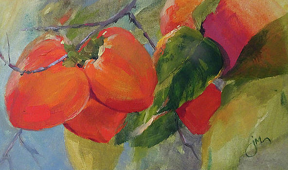 Pretty Persimmons 1 by Jeri McDonald
