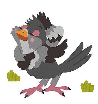 Pretty Pigeon by Nicole Wilson