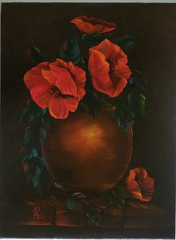 Pretty Poppies  by Lisa Rodriguez