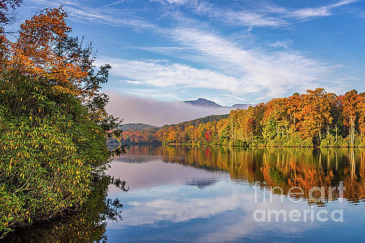 Price Lake Autumn by Anthony Heflin