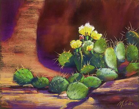 Pricklies on a Ledge by Marjie Eakin-Petty