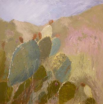 SOLD Prickly in Long Canyon by Irena  Jablonski
