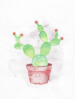 Prickly Pear Cactus by Dream Pigment