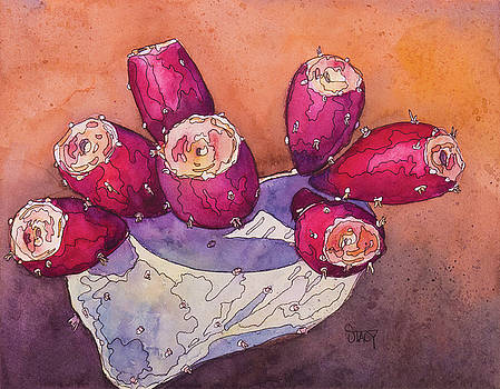 Prickly Pear Fruit by Stacy Egan