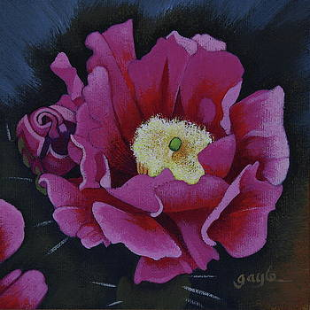 Prickly Pear Pink by Gayle Faucette Wisbon