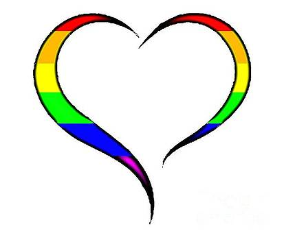 Pride Heart by Mark Moore
