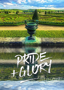 Pride Plus Glory Versailles Palace Gardens Paris France by Beverly Claire Kaiya