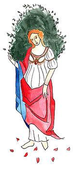 Anna Elkins - Primavera by Botticelli