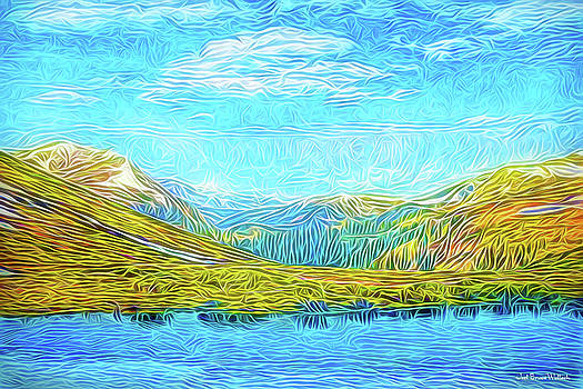 Primeval Mountains by Joel Bruce Wallach