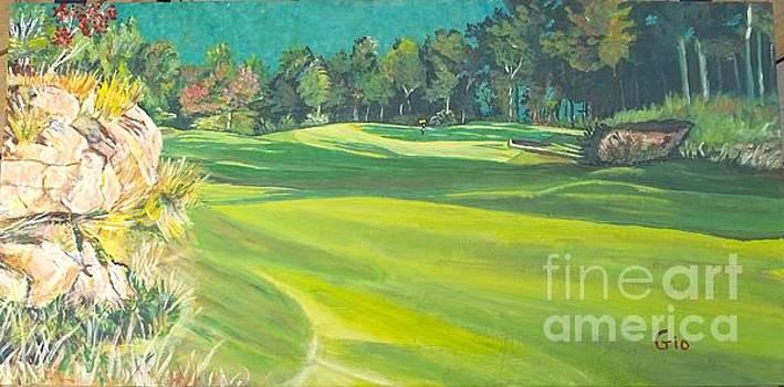 Primland golf course #1 by Frank Giordano