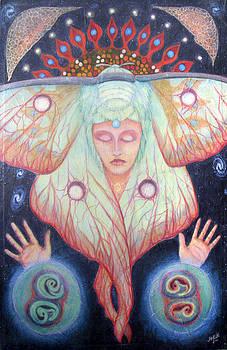 Primordial Cell Dream by Janelle Schneider