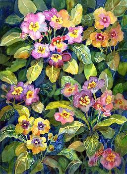 Primrose patch II by Ann Nicholson