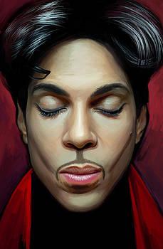 Prince Artwork 2 by Sheraz A