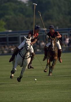 Prince Charles Playing Polo by Travel Pics