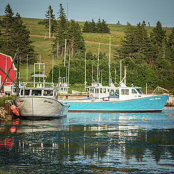 Prince Edward Island Lobaster Boats by Chris Bordeleau