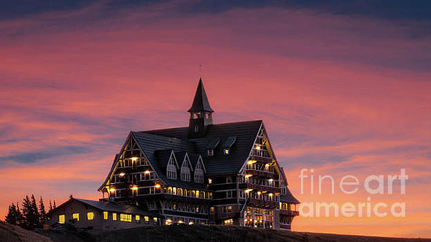 Prince of Wales Sunset by Jerry Fornarotto