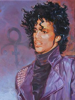 Prince - Purple Rain by Shawn Shea