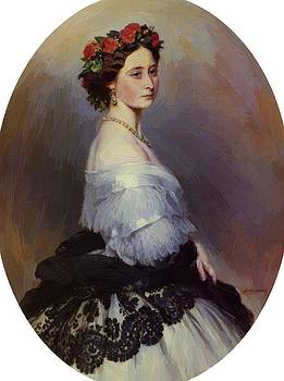 Winterhalter Franz Xaver - Princes Alice Of England