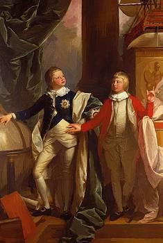 West Benjamin - Princes William And Edward 1778