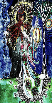 Princess In The Night Garden Vintage by Genevieve Esson