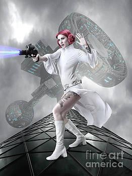 Princess Leia by Babette Van den Berg