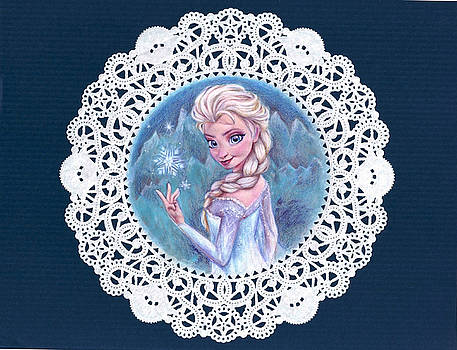 Princess on a Snowflake by Noelle Magana