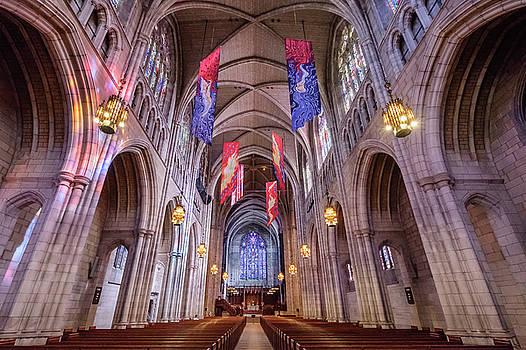 Princeton Chapel Interior by Glenn DiPaola