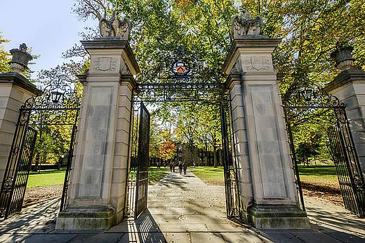 Princeton Entrance Gate by Glenn DiPaola