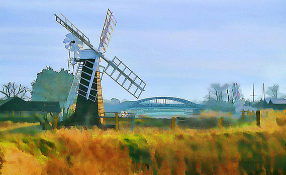 Valerie Anne Kelly - Priory Windmill
