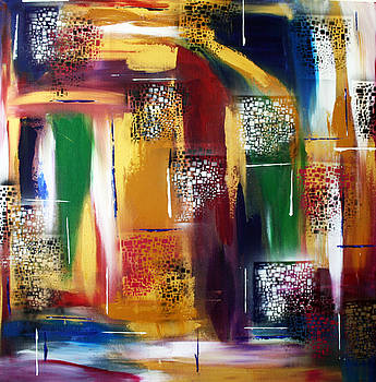 Prismatic Lights I by Victoria  Johns