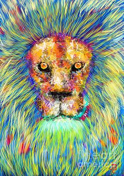 Prismatic Lion by J Travis Duncan