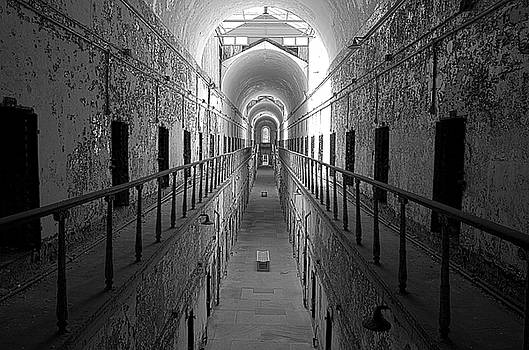 Prison Cell Hall by Crystal Wightman